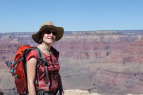 Katja am Grand Canyon