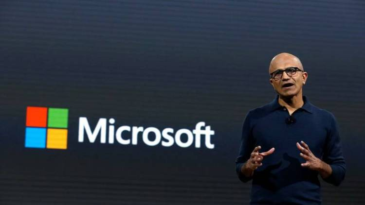 Microsoft CEO Satya Nadella rakes in $35 million in share ...