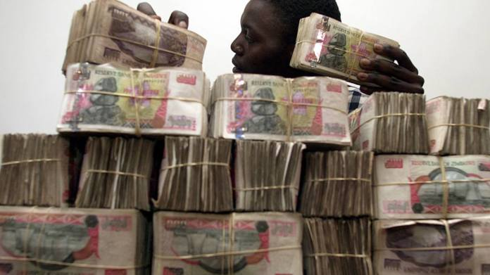 4) Zimbabwean dollar | At one point, it took 35 trillion Zimbabwean dollars to reach the value for a single United States (US) dollar. Entire cartons of this currency would be used to pay restaurant bills as inflation rates exploded to 250,00,000 percent at their peak. The government even resorted to printing Z$100 trillion notes before finally abandoning the currency in 2009. These notes have become collectors items, gathering US $100 on eBay. (Image: Reuters)