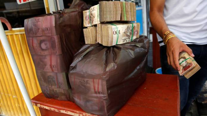 "1) Venezuelan bolívar | The currency of Venezuela has ballooned to such an extent that its President , Nicolas Maduro, has put the bolivar on a ""re-denomination"" exercise, essentially lopping off five zeros from its unit measurement. The Bolivar has been devalued by 95 percent so as to prevent the country's economy from going under. The government has also created a new currency called the ""sovereign bolivar"" which is pegged to Bolivar's cryptocurrency — the petro. According to an MSN compilation, the bolivar is expected to hit one million percent this year, its value is projected to reduce to six million bolivar to a dollar. (Image: Reuters)"