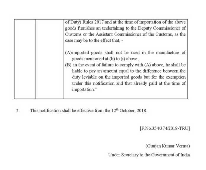 Govt hikes import duty on electronic items, telecom gear to ease pressure on rupee cs76 2018 page 002 1 1 1