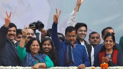 Image result for delhi election 2020