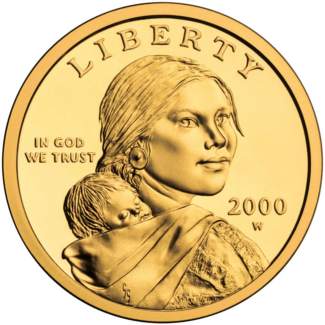 1 Dollar Sacagawea Dollar