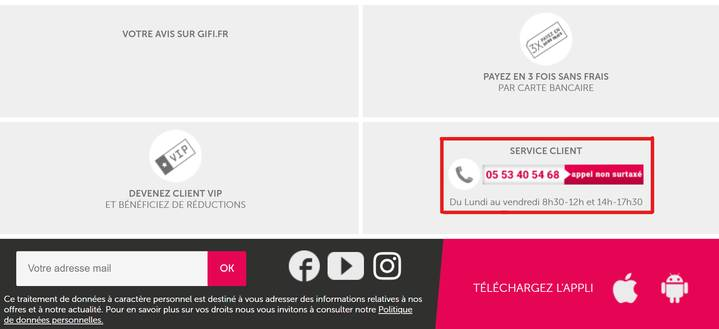 code promo gifi reductions avril