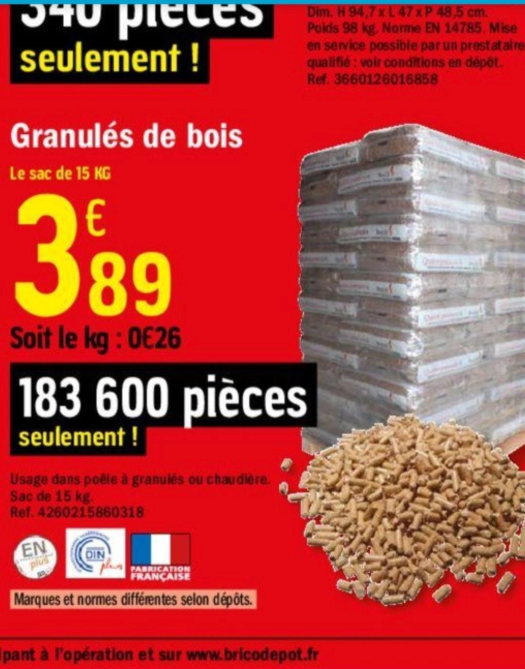 Sac De Granule Din 15 Kg Dealabs Com
