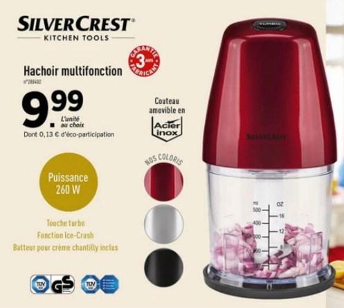 hachoir multifonction silvercrest