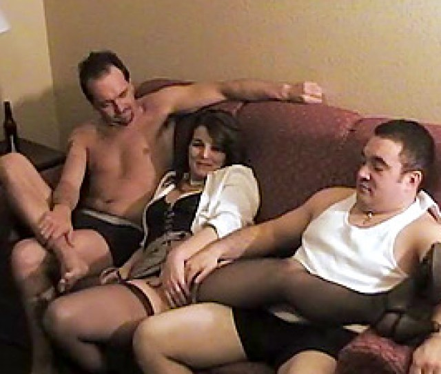 Bitchy Wifey In A Motel Room To Be Collective By Two Guys
