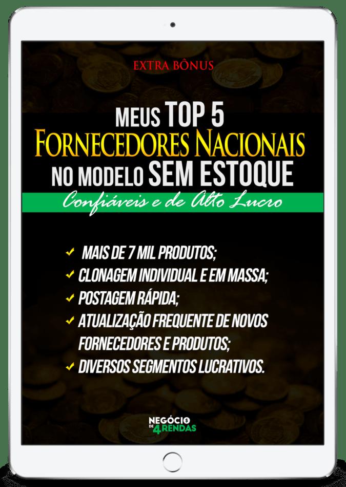 BÕNUS CURSO NEGÓCIO DE 4 RENDAS