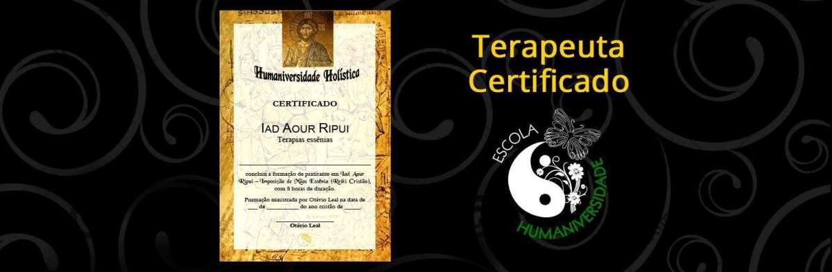 Certificado Curso Online de Reiki Crístico