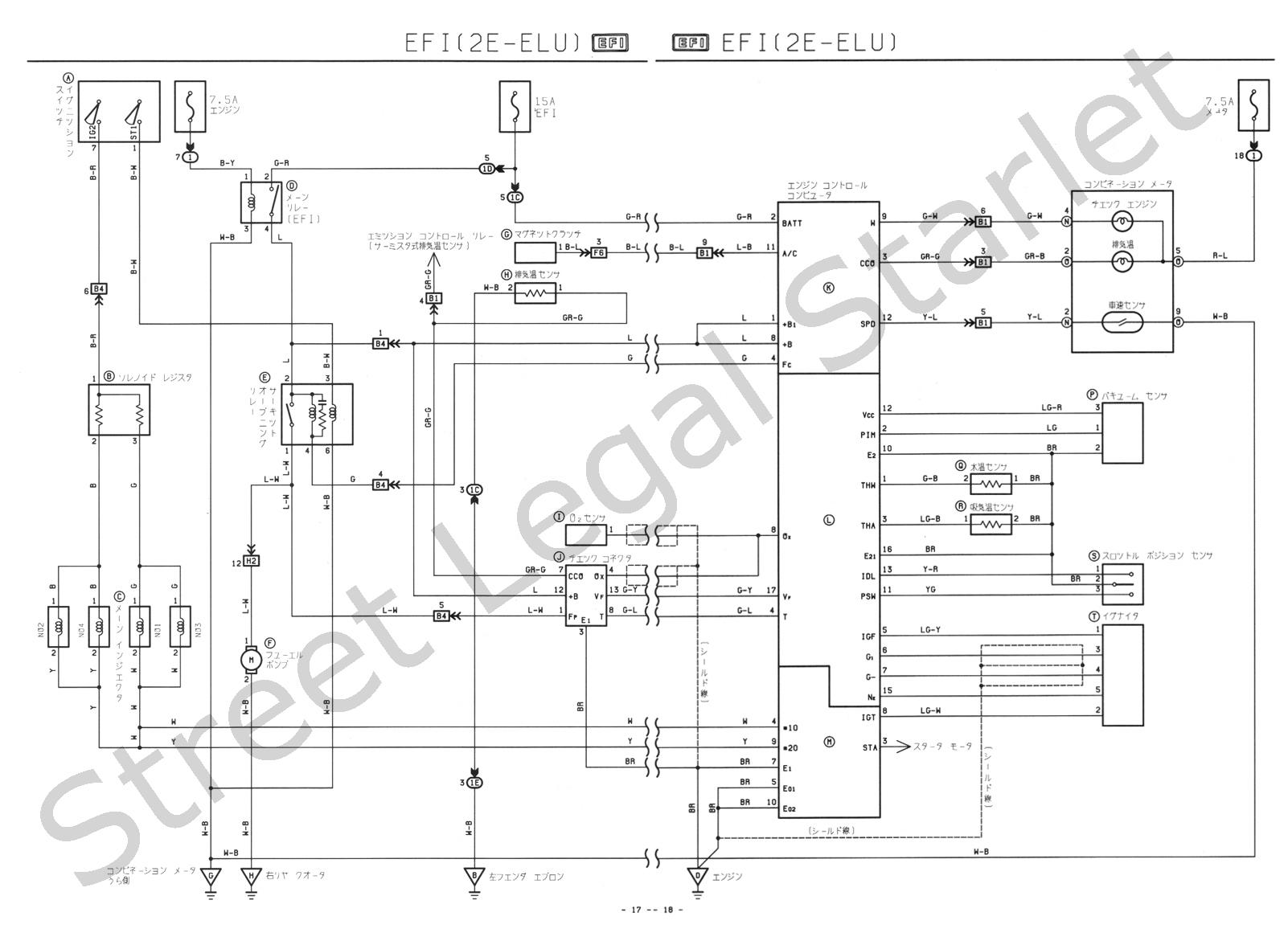Ba Toyota Wiring Diagrams System Download Diagram