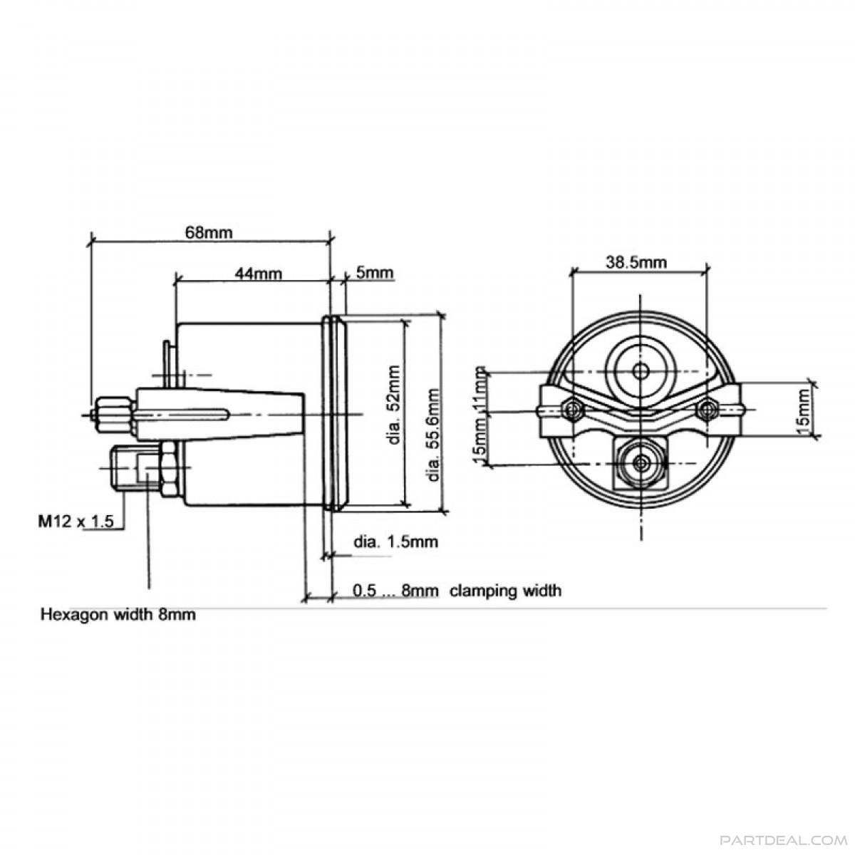 Vdo Rpm Gauge Wiring Diagram As Well Mechanical
