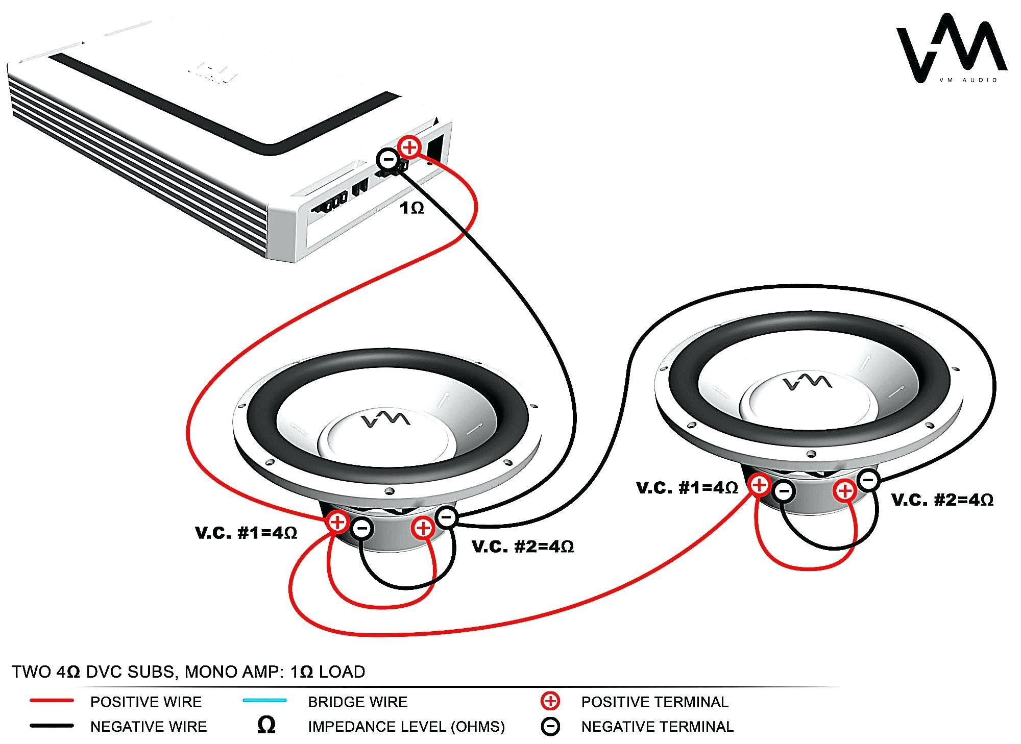 Dual Voice Coil Subs Wiring Diagram
