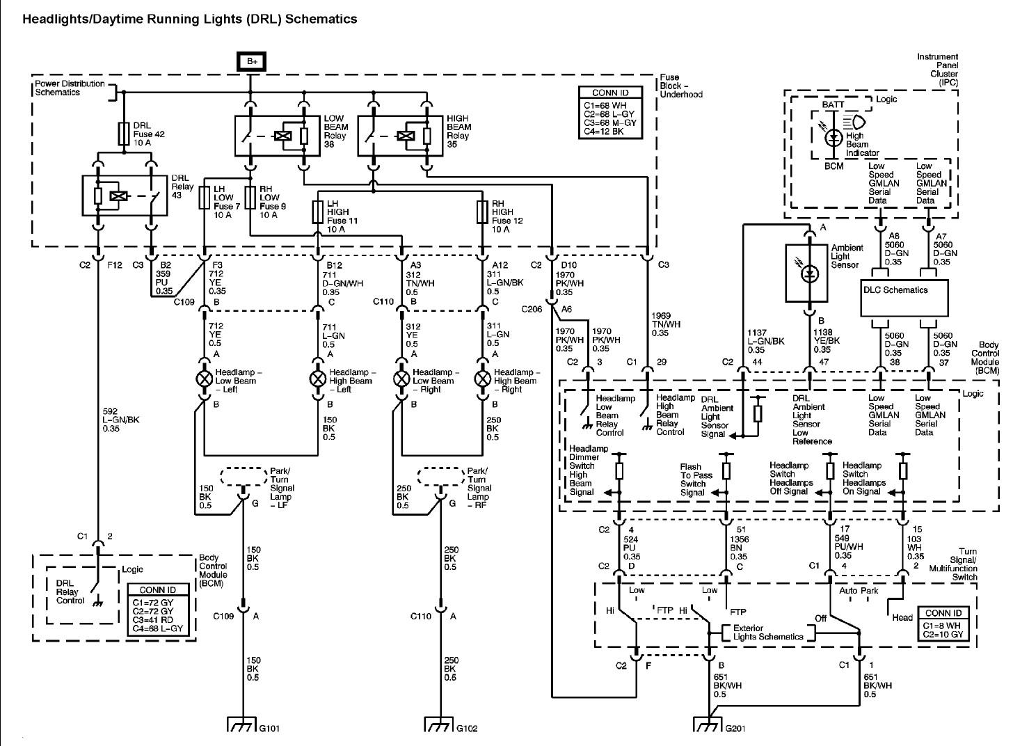 Wiring Diagram Pontiac G6