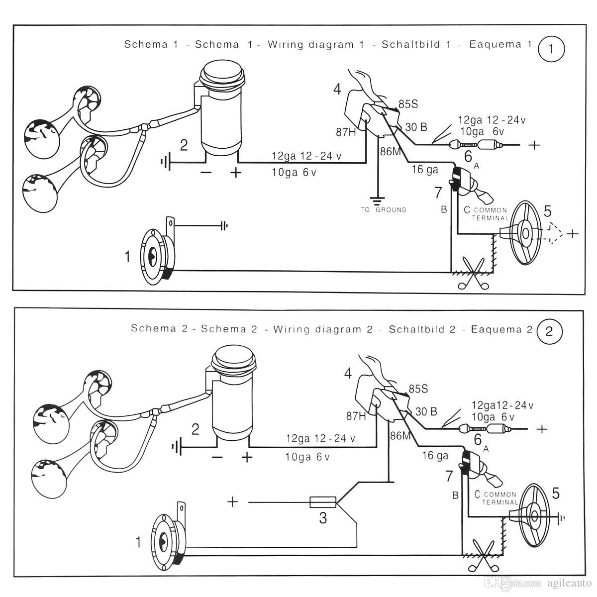Lb Loud Horns Dual Horn Relay Diagram On Horn Relay