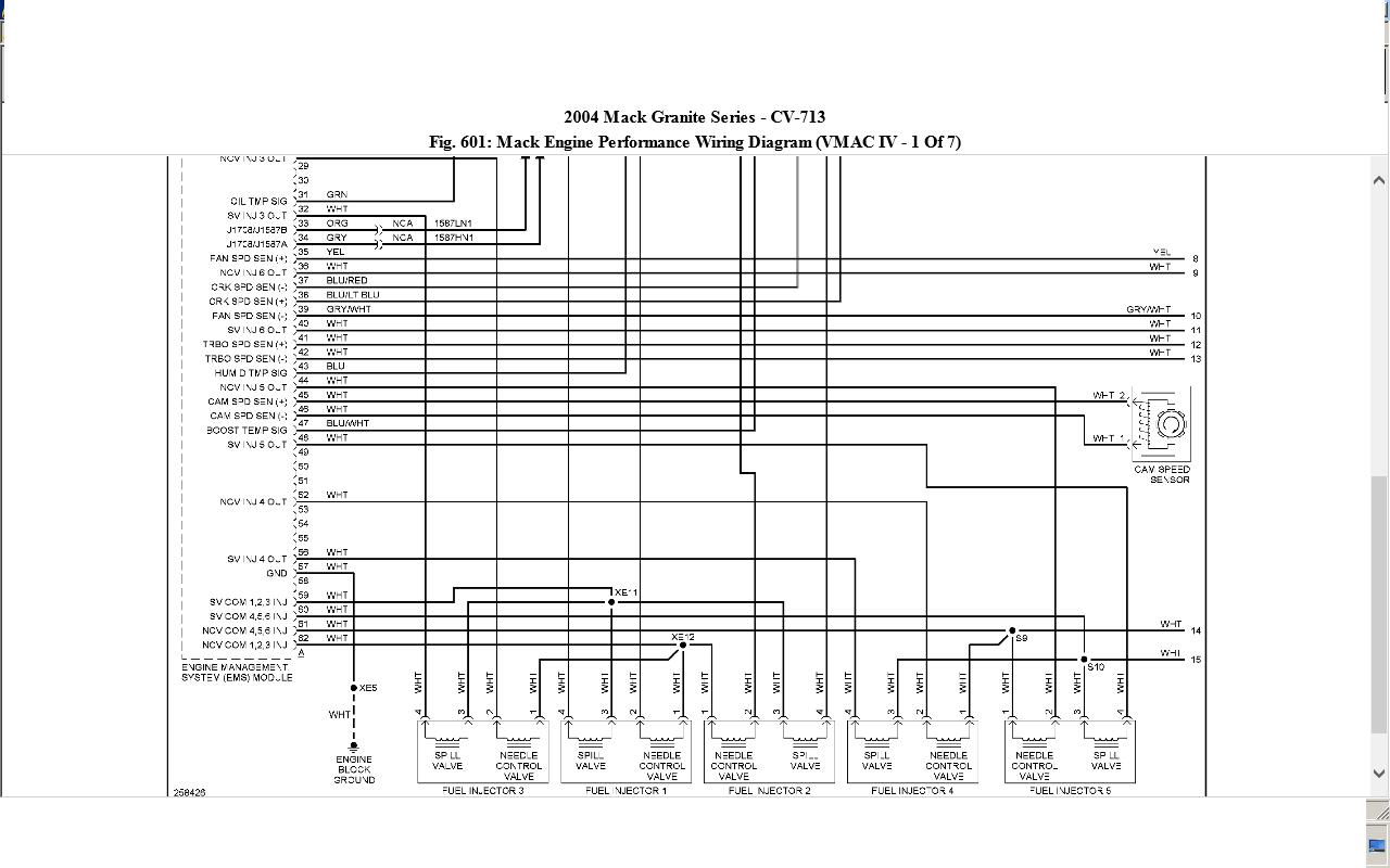 Mack Ch 600 Wiring Diagram