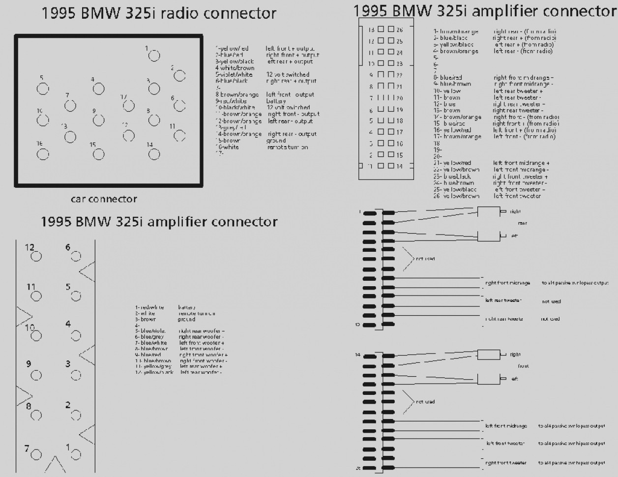 Bmw E46 318i Radio Wiring Diagram