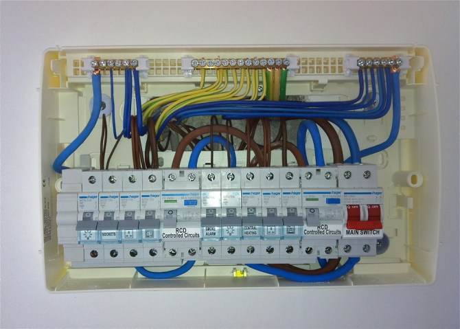 fg7950 how to wire a dual rcd consumer unit diagram wiring