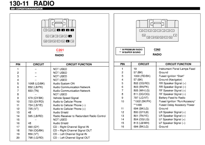 1998 ford expedition speaker diagram  auto wiring diagrams