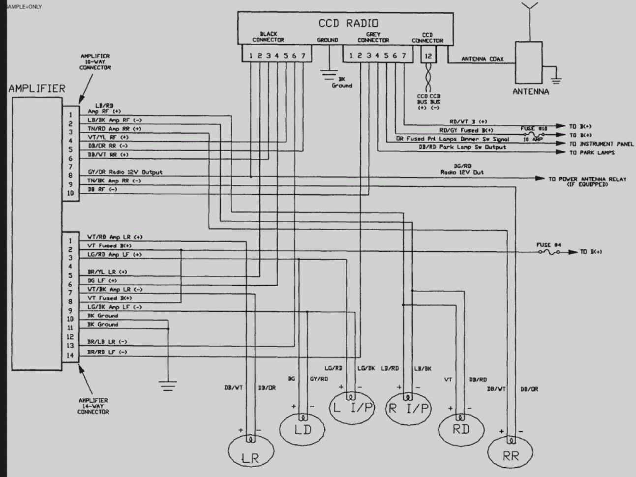 07 Jeep Wrangler Stereo Wiring Diagram