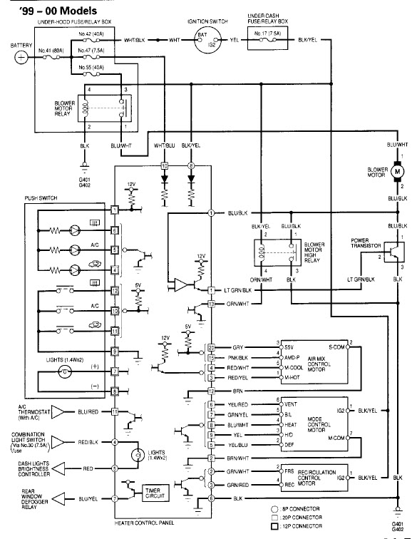 honda blower motor wiring diagram  description wiring