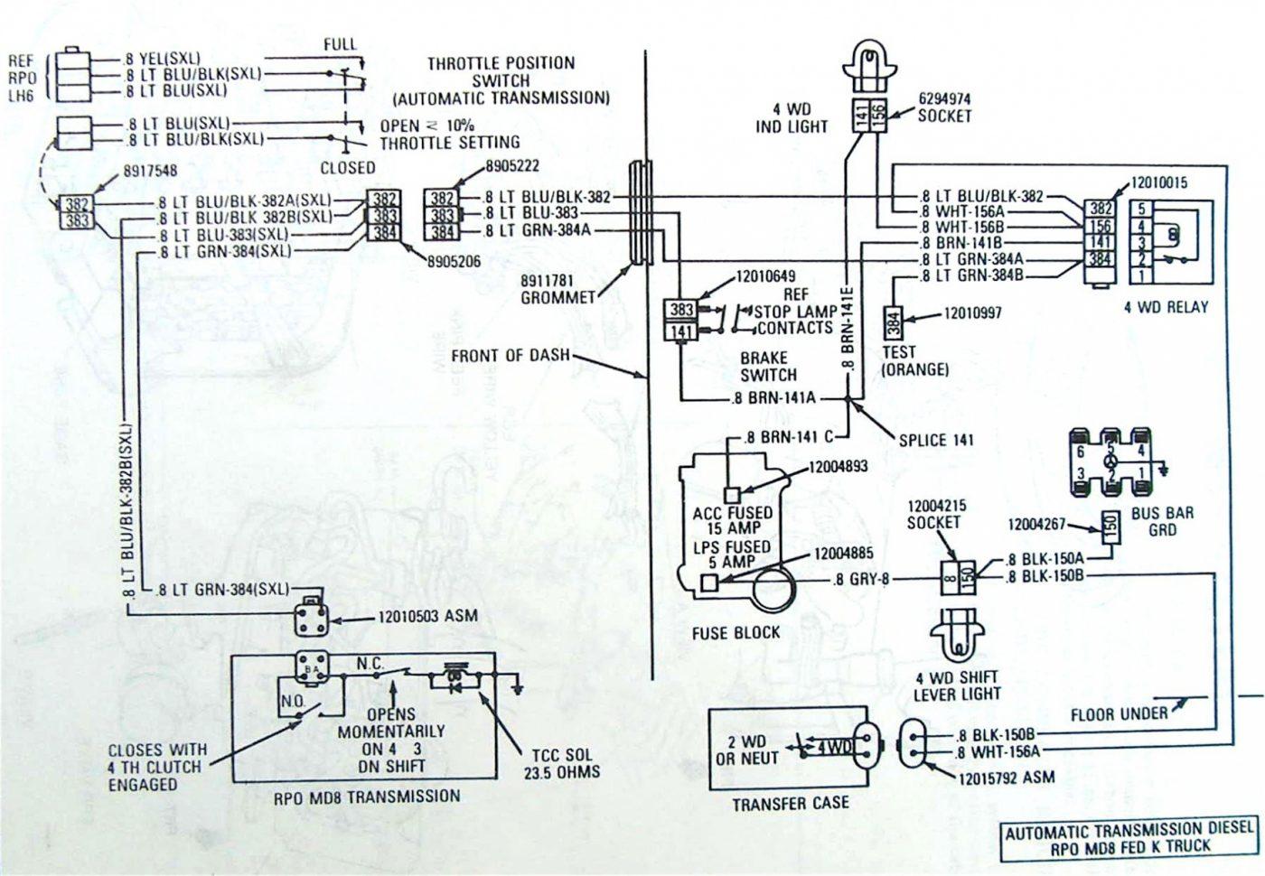 Bn 4l60 To 4l80 Wiring Diagram Download Diagram