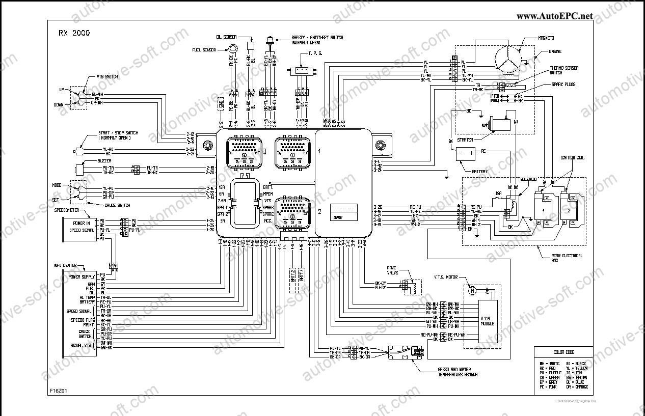 Seadoo Spx Wiring Diagram