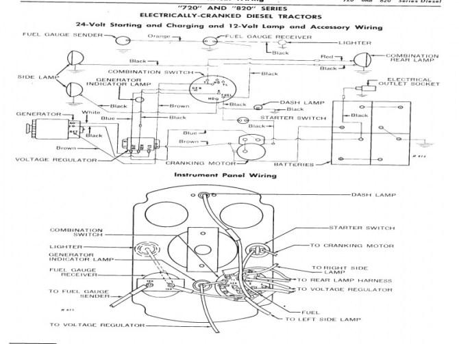 hl4098 farmall 140 12 volt wiring diagram free diagram