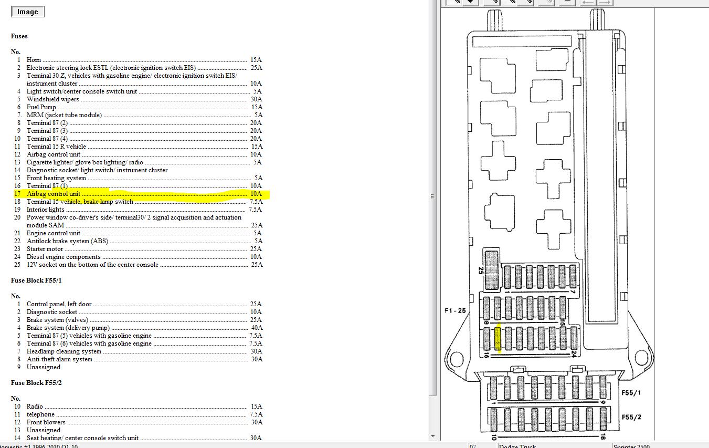 Mercedes Sprinter Radio Wiring Diagram