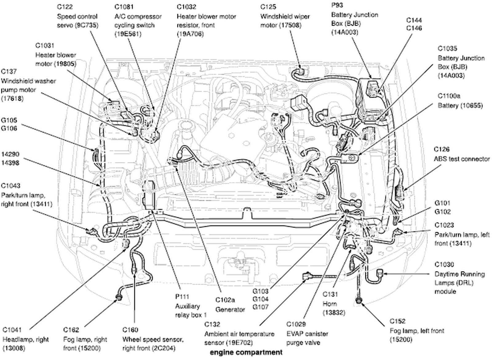 Ford Explorer Sport Trac Wiring Diagram