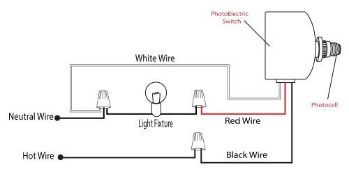 3 wire photocell wiring diagram  leviton 3 way switch wire