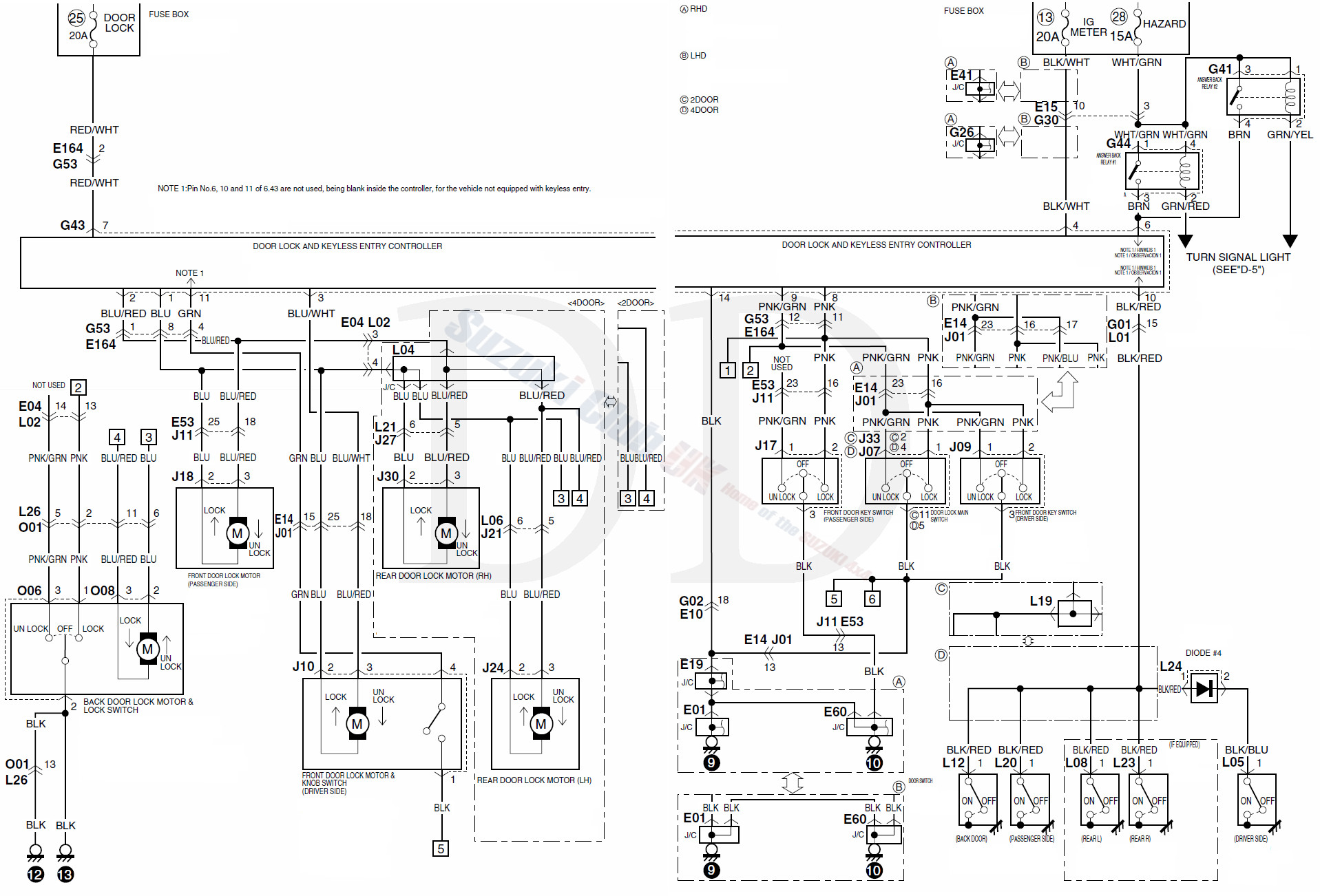 Suzuki Grand Vitara Wiring Diagram