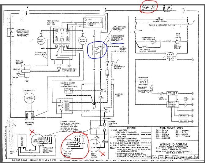 gas furnace electrical wiring schematic  pietrodavicoit