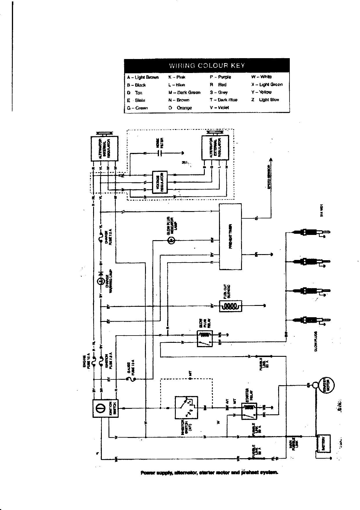 Toyota Hilux Surf Wiring Diagram