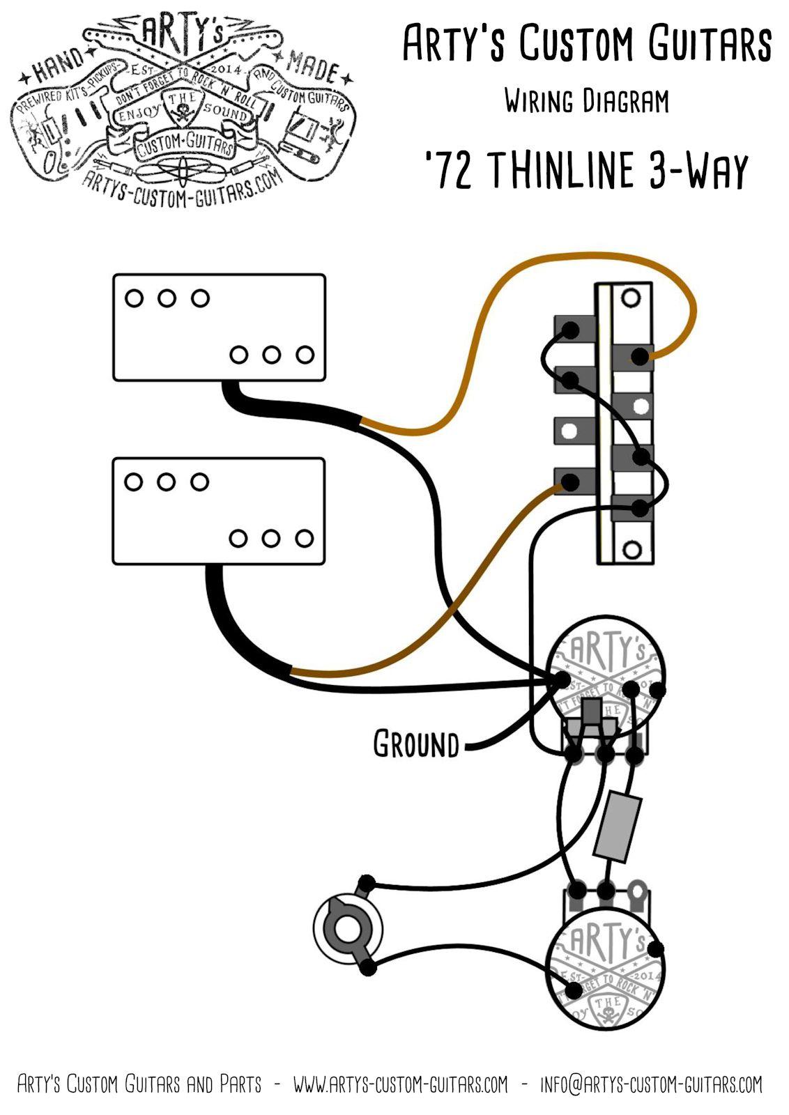 Squier Tele Custom Ii Wiring Diagram