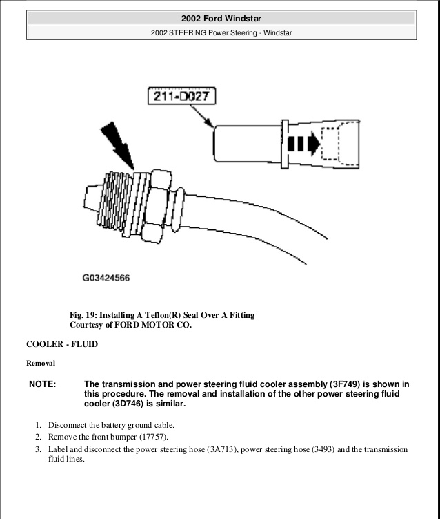vf9503 diagram as well 2000 ford windstar transmission