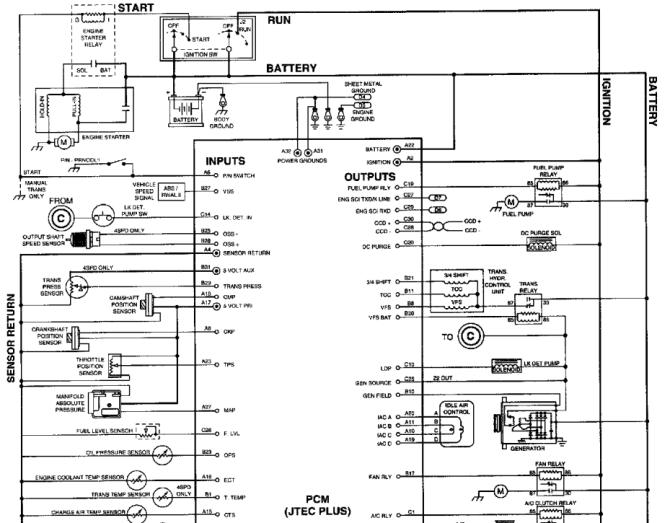 wiring diagram for 1998 dodge dakota  auto wiring diagrams