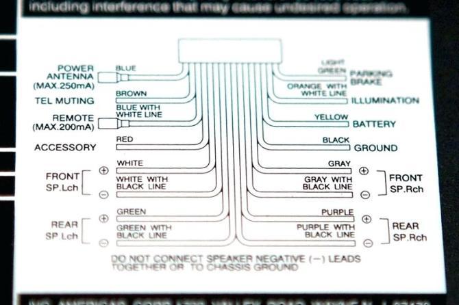 vr9484 car radio wiring diagram sony car stereo wiring