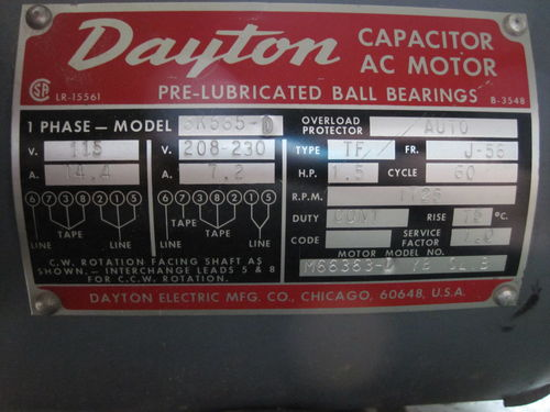 co9036 208v single phase capacitor wiring wiring diagram