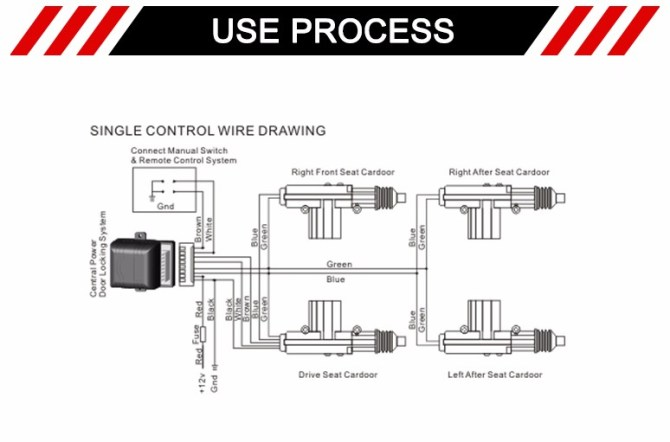 5 wire central locking wiring diagram  schematic wiring