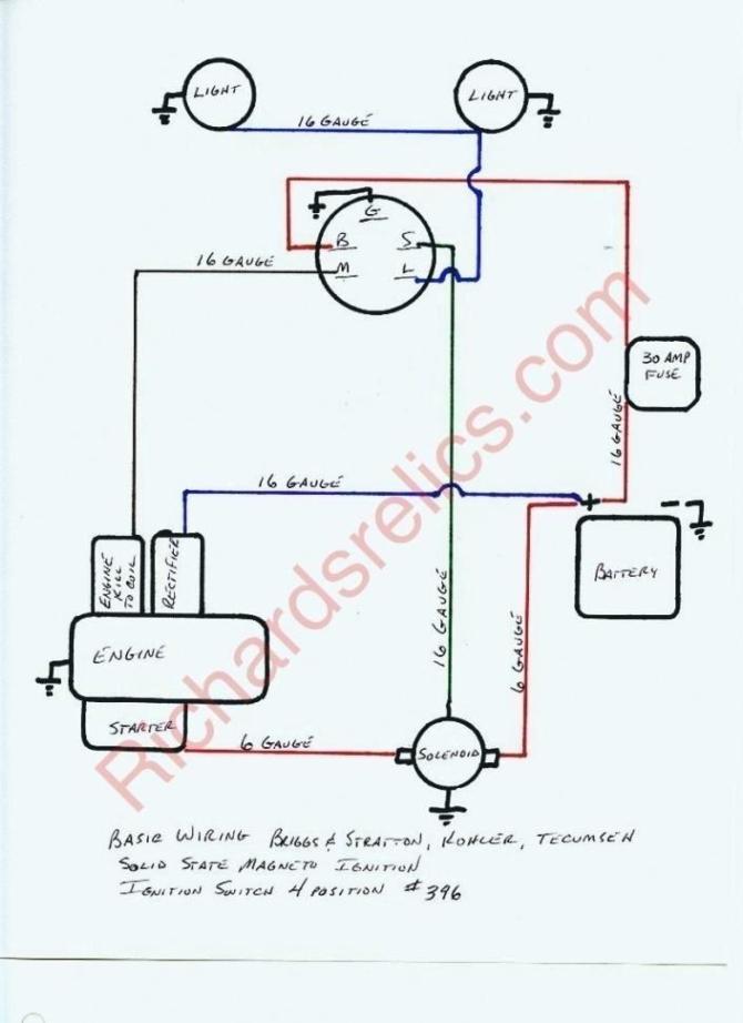 tecumseh coil wiring diagram  2008 silverado tail light