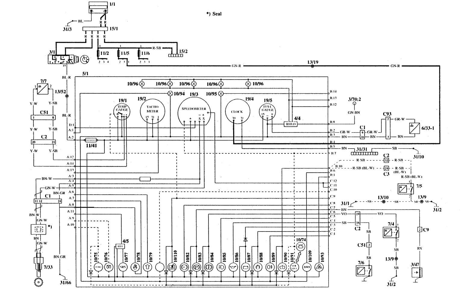 Volvo 940 Radio Wiring Diagram