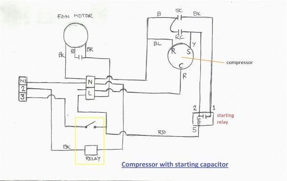 ra1397 hermetic compressor wiring diagram embraco free diagram
