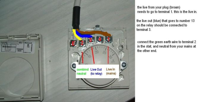 honeywell room thermostat wiring diagram  how to wire 3 way