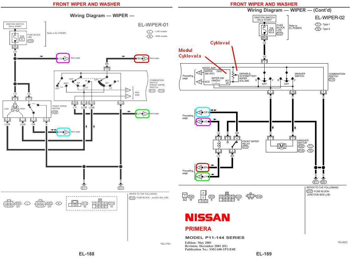 Primera P12 Radio Wiring Diagram