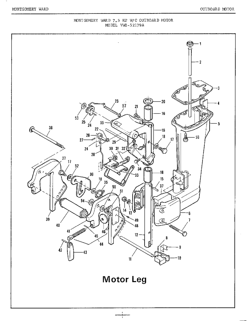Wiring Diagram For Mercury Outboard Motor Manual Guide