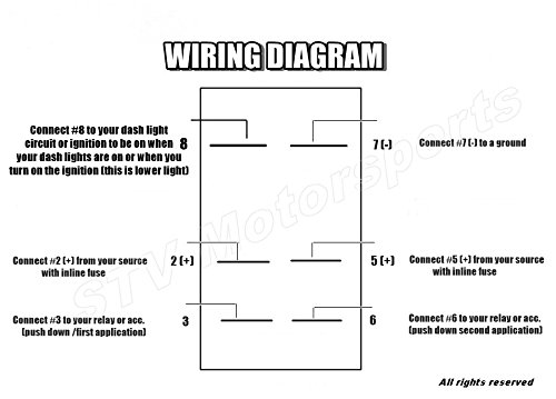 double rocker switch 12v wiring diagram  options indexes
