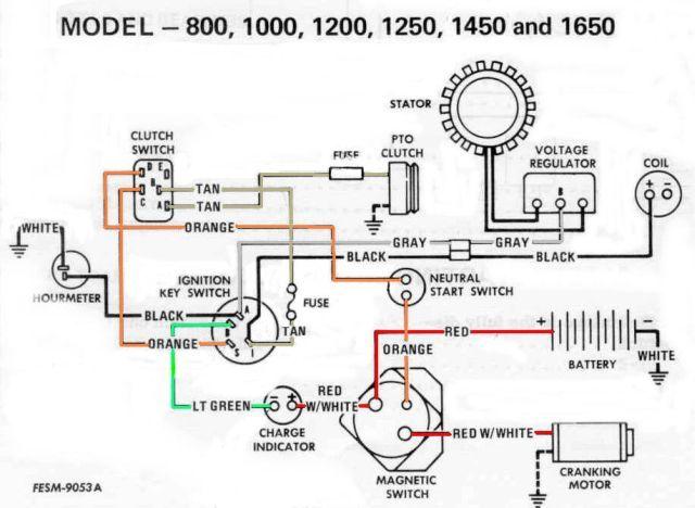 ob6789 toro wheel horse wiring diagram wiring diagram