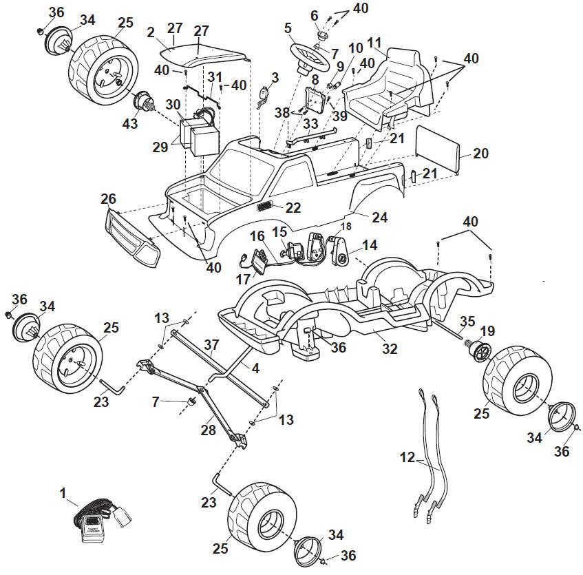 dd 0788 ford f 150 body diagram