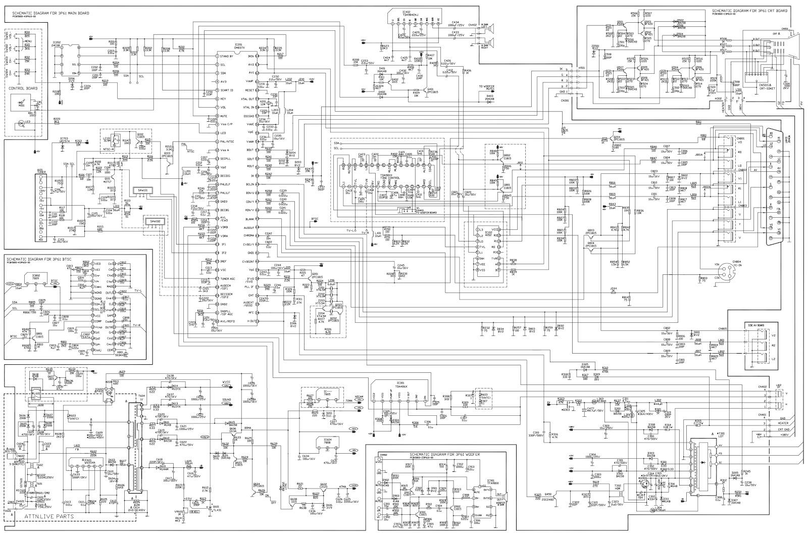Philips Tv Wiring Diagram
