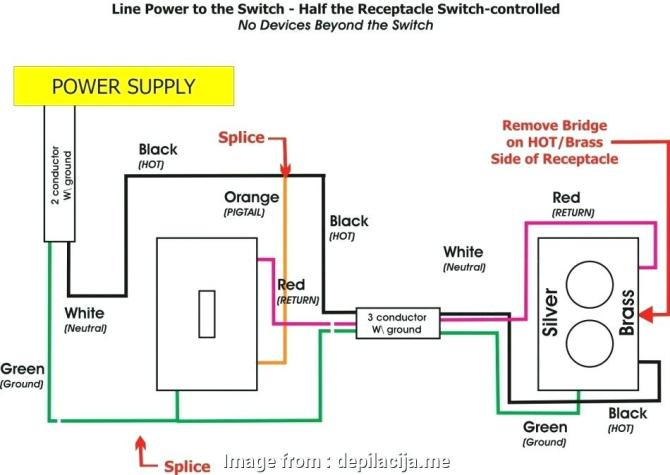 hc4914 wiring a receptacle switch combo schematic wiring